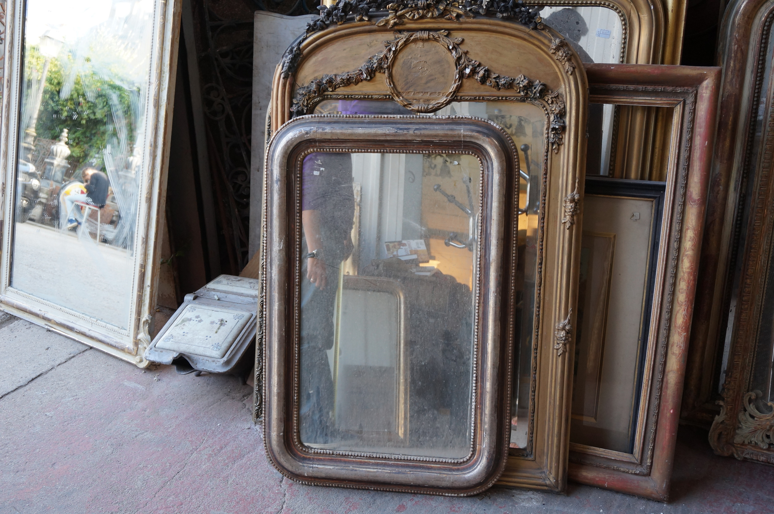 Louis Phillipe mirrors