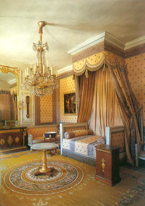 Empire Style - Napoleon's chamber in the Grand Trianon at Versailles