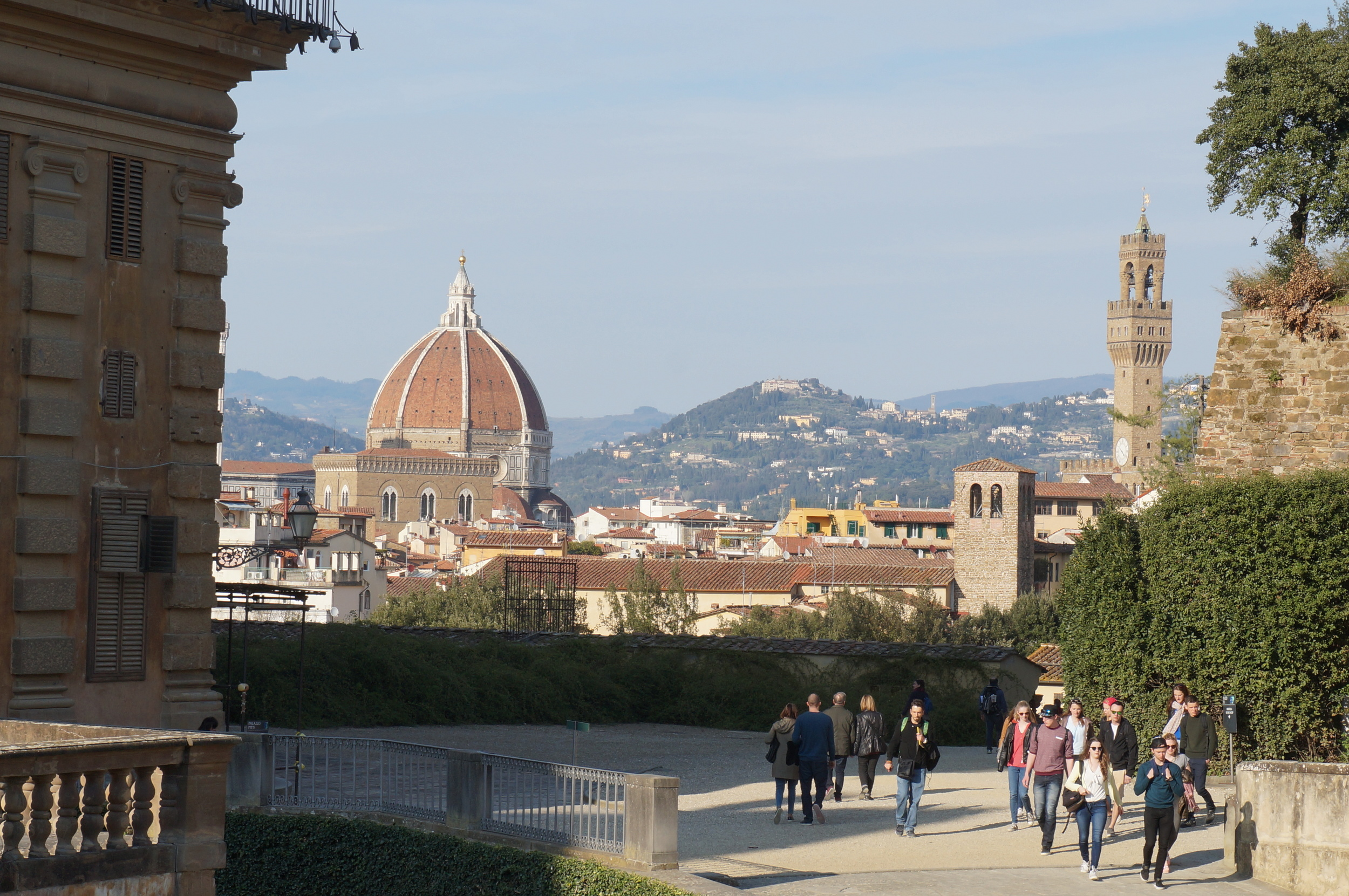 ....and from the Boboli gardens