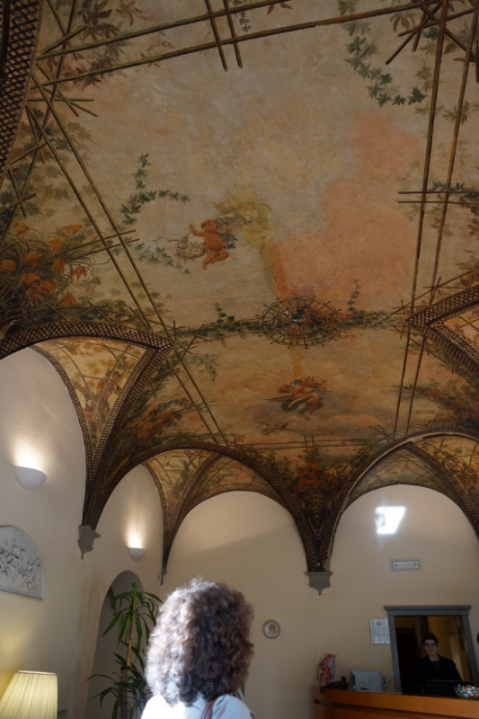 Another 16th c building, another amazing ceiling....