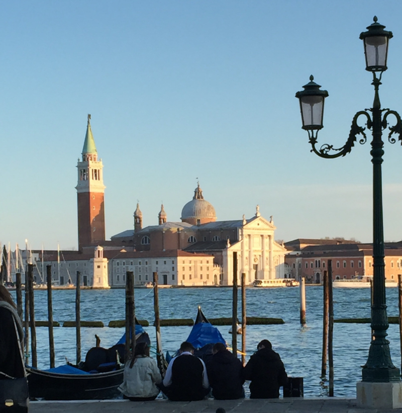 In mid-March we took the express train - 2 hours! - to Venice.