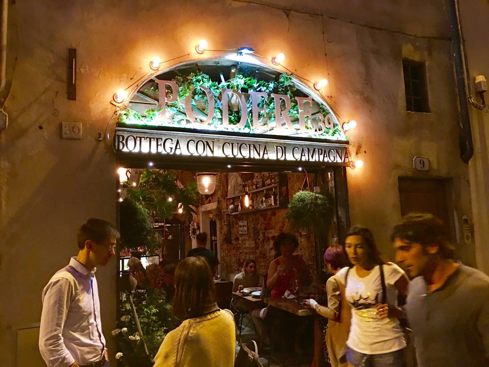 One of our favorite restaurants, Podere 39, on Via Senese. The pasta is amazing!  https://www.facebook.com/Podere-39-Firenze-919420918172225/