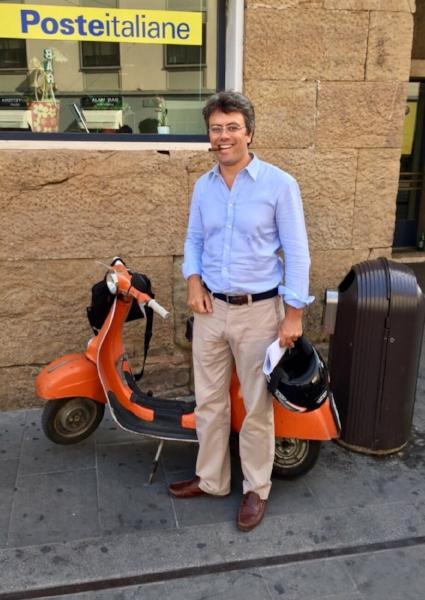 Our Florence attorney, Ugo Franceschetti