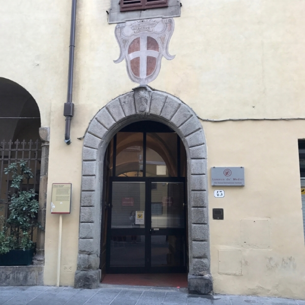 My new school in Florence!