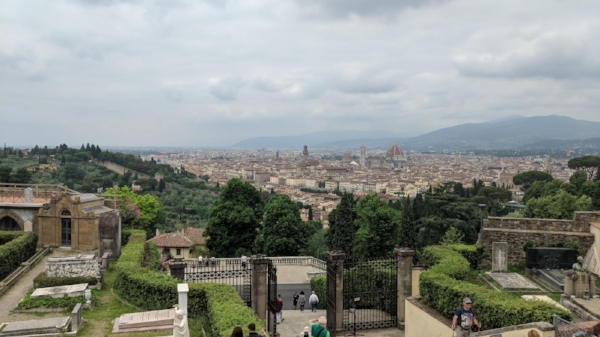The view from San Miniato al Monte
