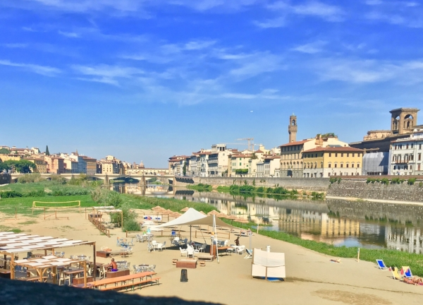 Easy Living, the Beach on the Arno