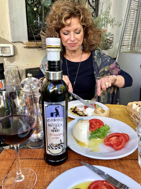 A great lunch in a homey ristorante in Greve, Bottega del Moro