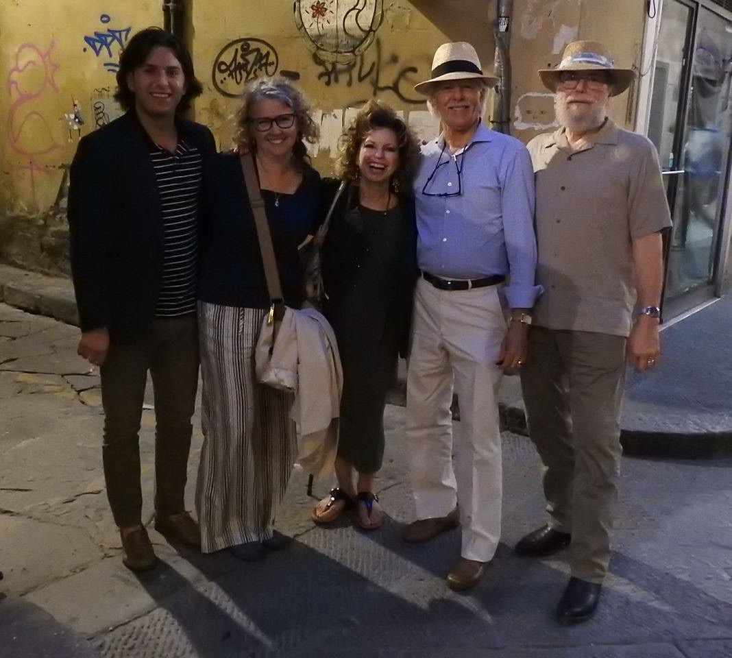 Our friends, Kathy and Steve Gleaves, had a very brief visit in Florence. We were thrilled that we were able to have dinner with them at    Osteria delle Brache   .