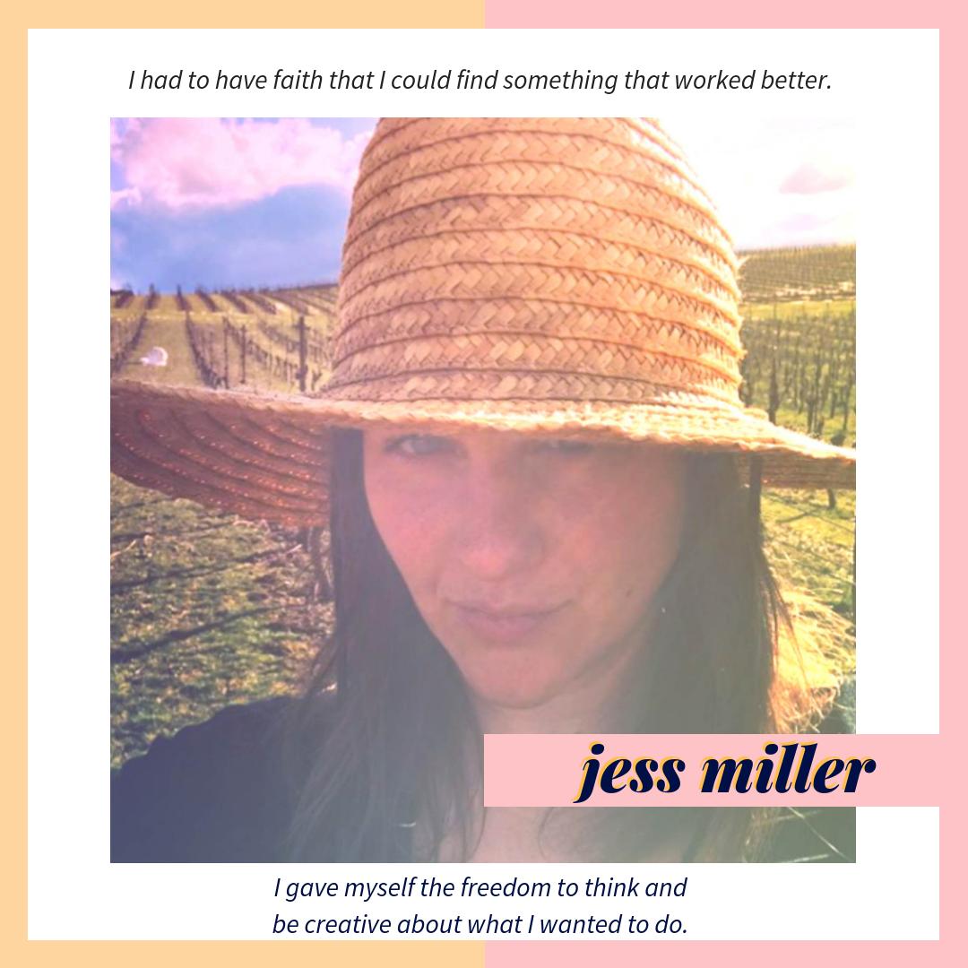 jess miller little crow vit coup de coiff
