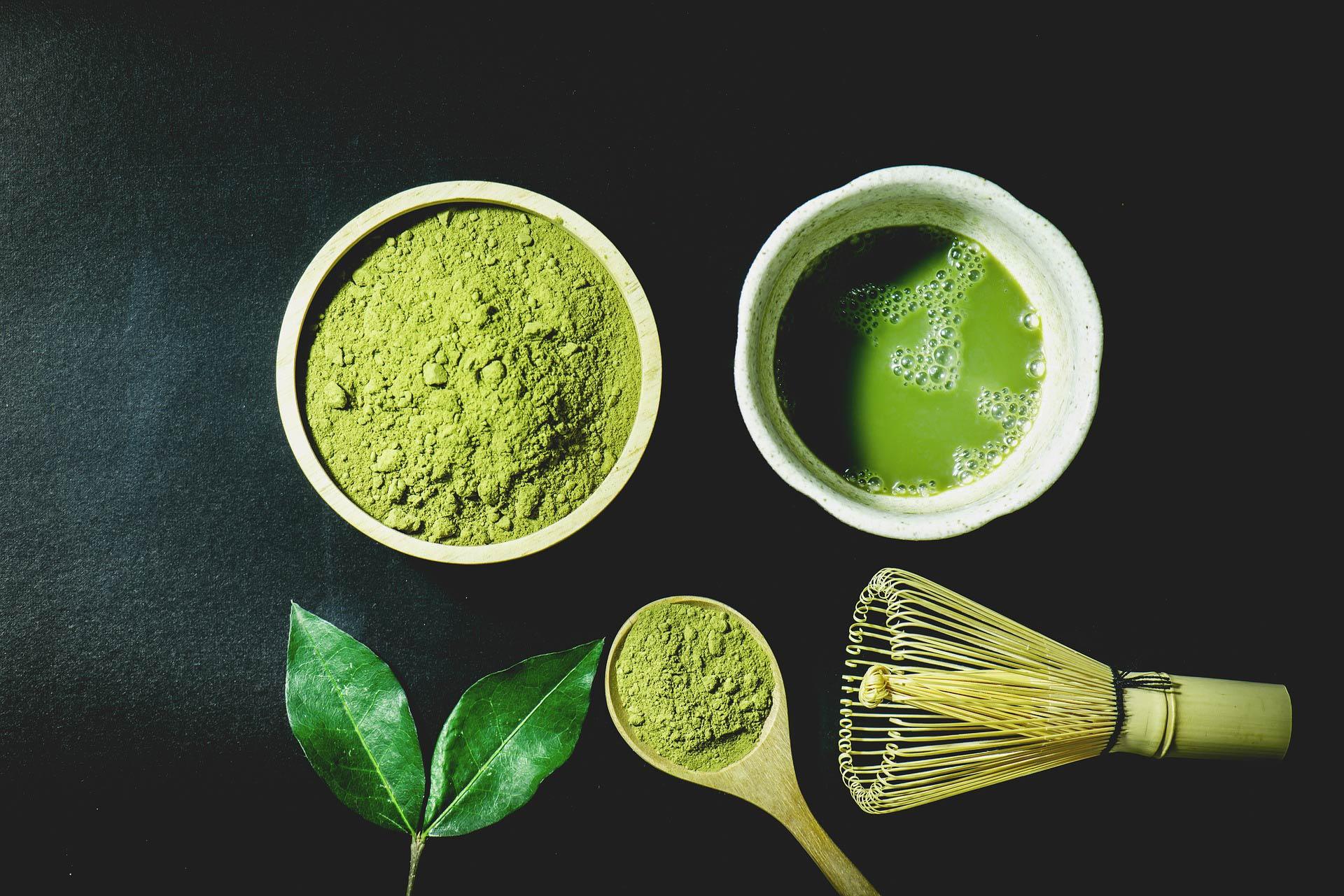 all matcha = green tea but not all green tea = matcha -