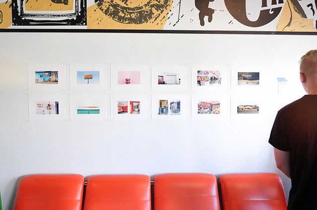 Photos from a few different series are up at birds on sixth for a few more weeks.
