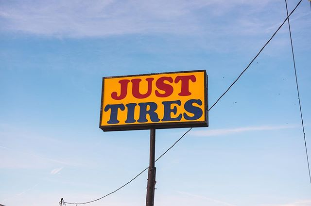 The Tire Shop, an ongoing series.