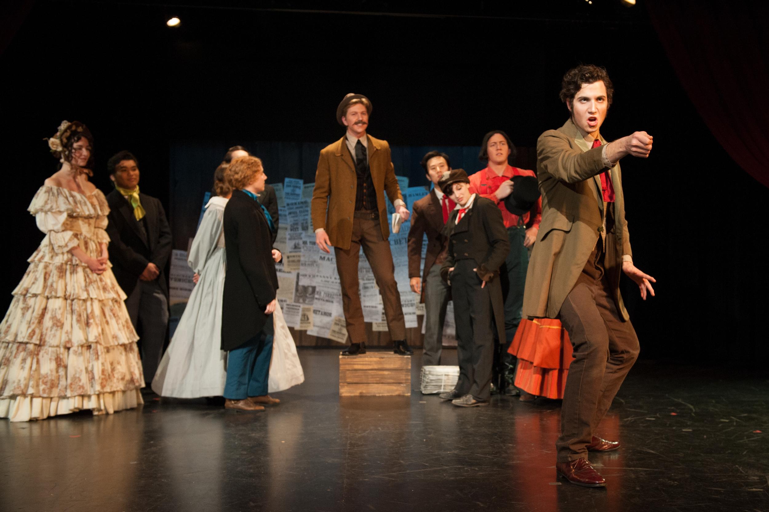 Edwin Forrest in  American Shakespeare Riot