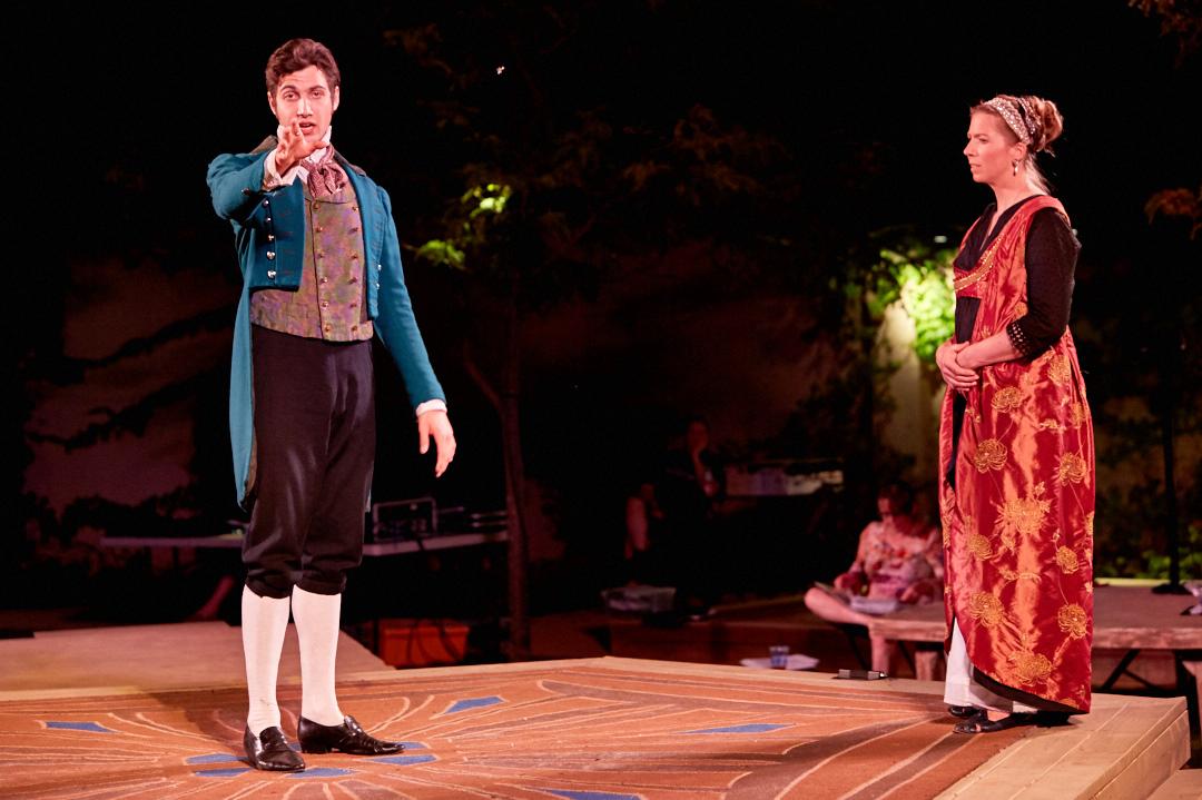 Photo by Gregg Le Blanc    Sense & Sensibility    Livermore Shakespeare Festival