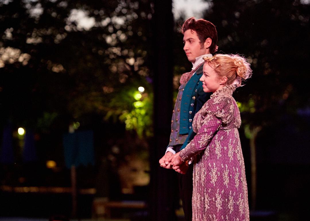 Photo by Gregg Le Blanc    Sense & Senn      Livermore Shakespeare Festival