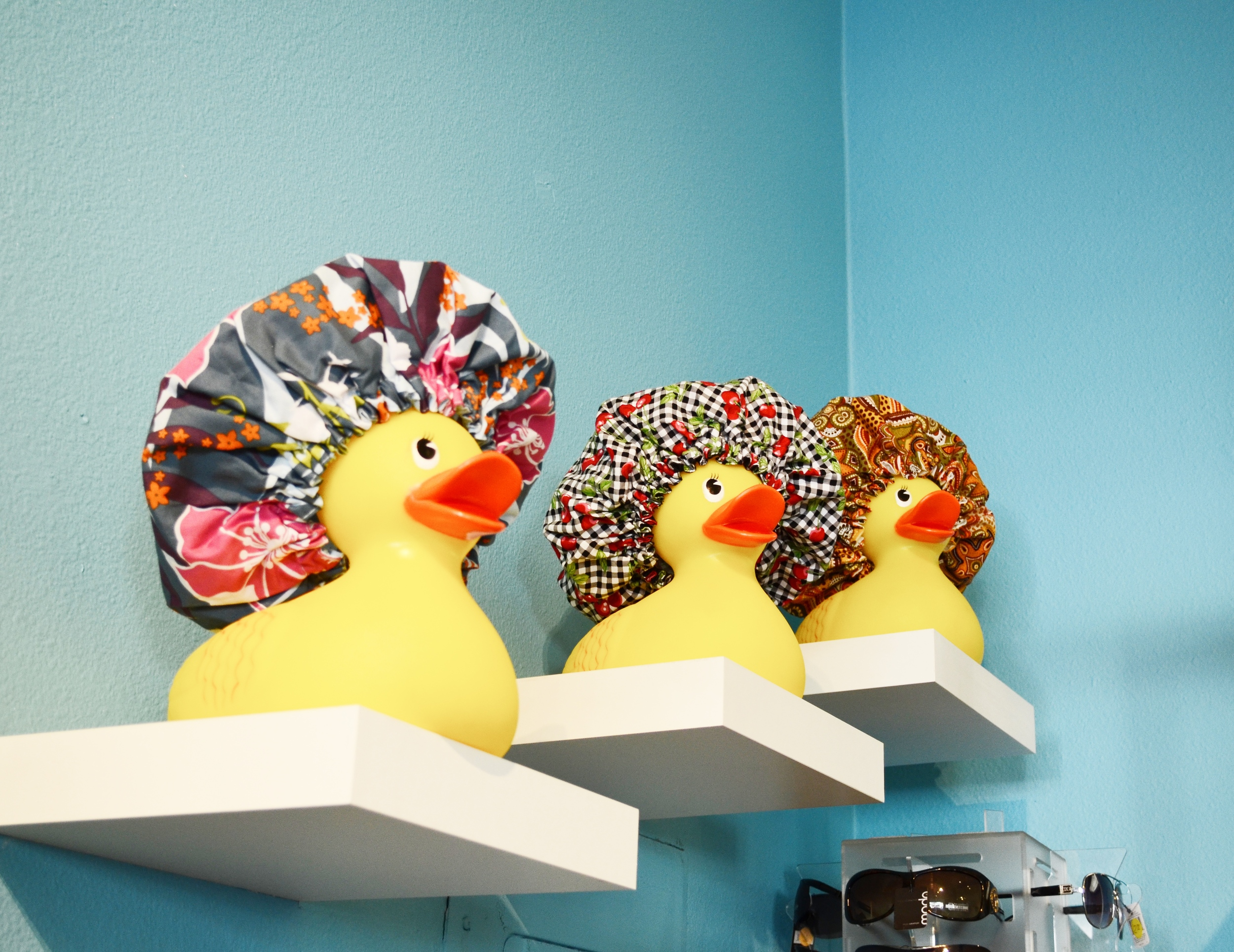 The cutest giant rubber duck display!