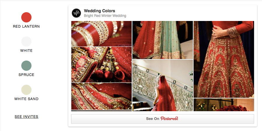 Bright Red Winter Wedding, Indian Wedding, Wedding Paper Divas, South Asian Wedding inspiration, Red and Gold Indian Wedding