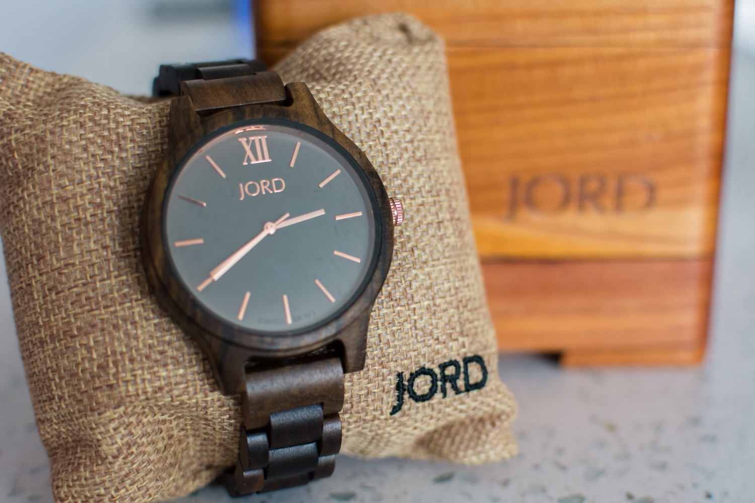 JORD Watch and Box
