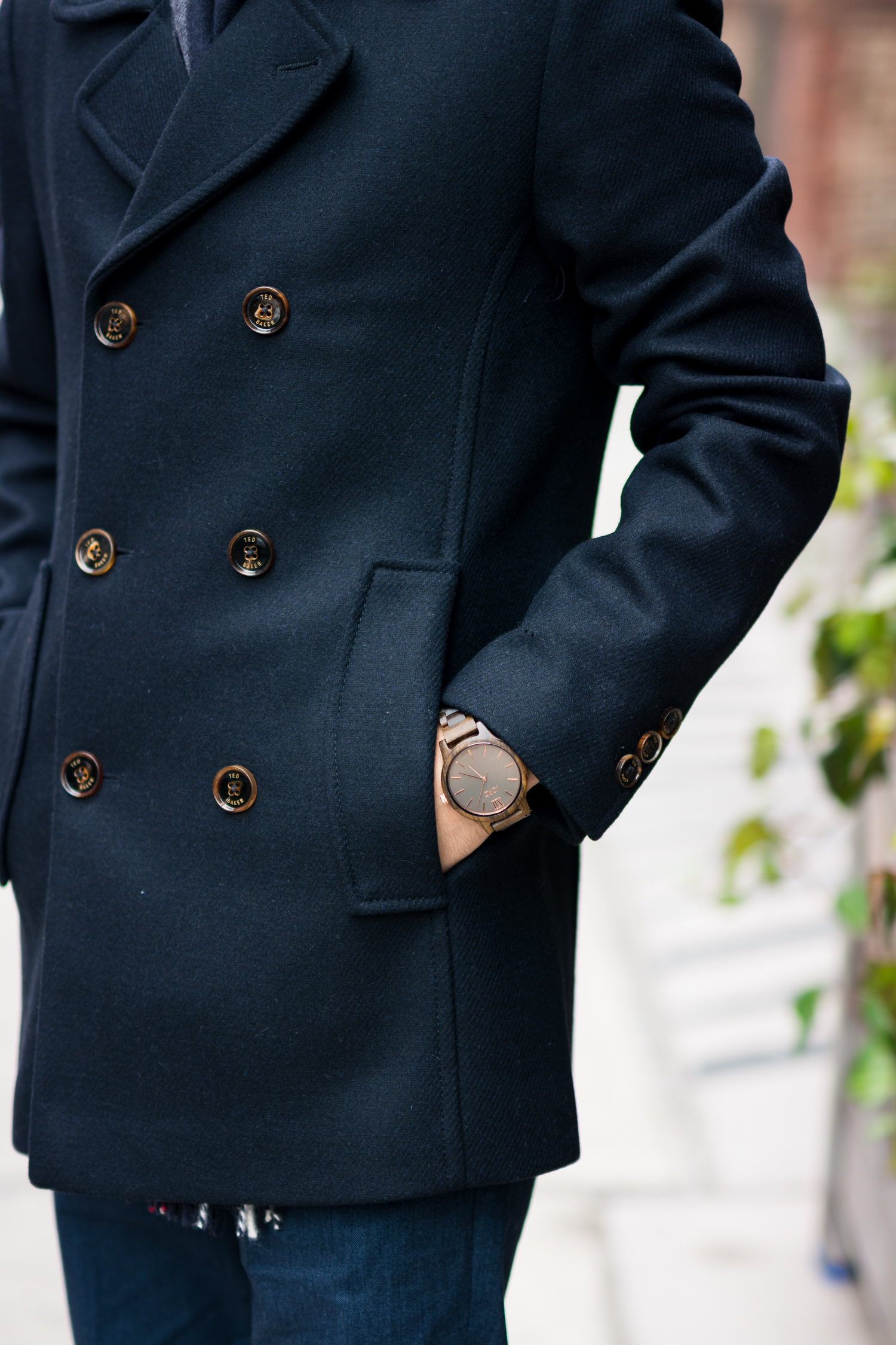 Jord Watch and Ted Baker Coat