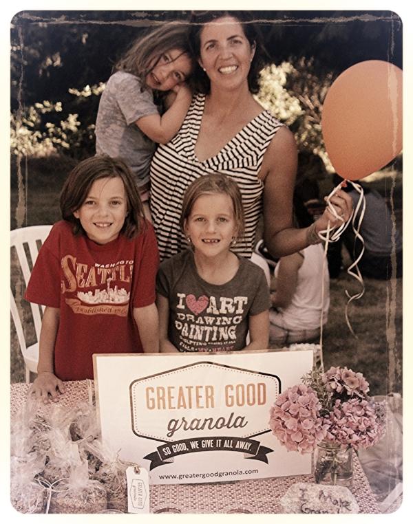 The original Greater Good Granola marketing department