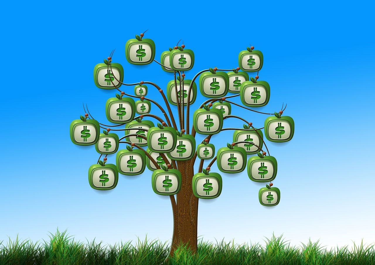 Passive income makes it feel as if money can grow on trees