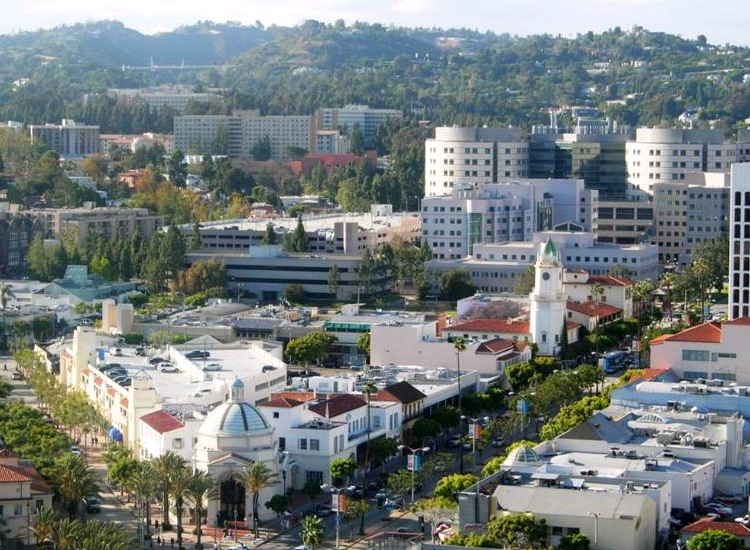 Modern Apartments for Rent in Westwood, Los Angeles CA - Gayley & Lindbrook-Beautiful View