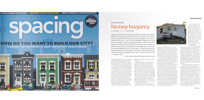 No Easy Buoyancy by Elizabeth Fenuta in Spacing Magazine