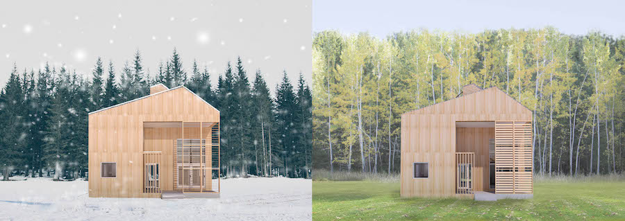 Lead by Elizabeth Fenuta, Passive House research initiative with Humber College for TRCA, BRE Innovation Park at the Kortright Centre, Ontario.