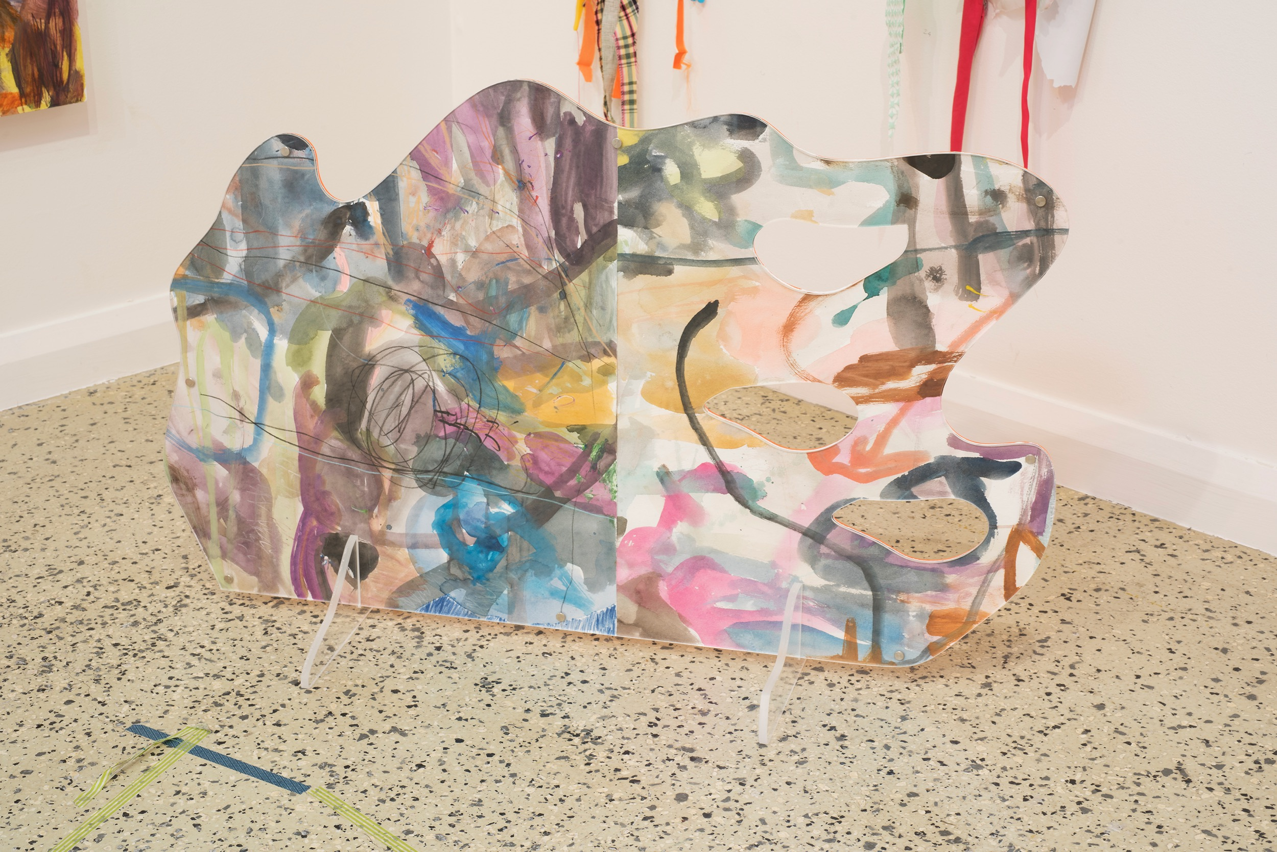 Lanyon Storm (standing painting 2), 2018