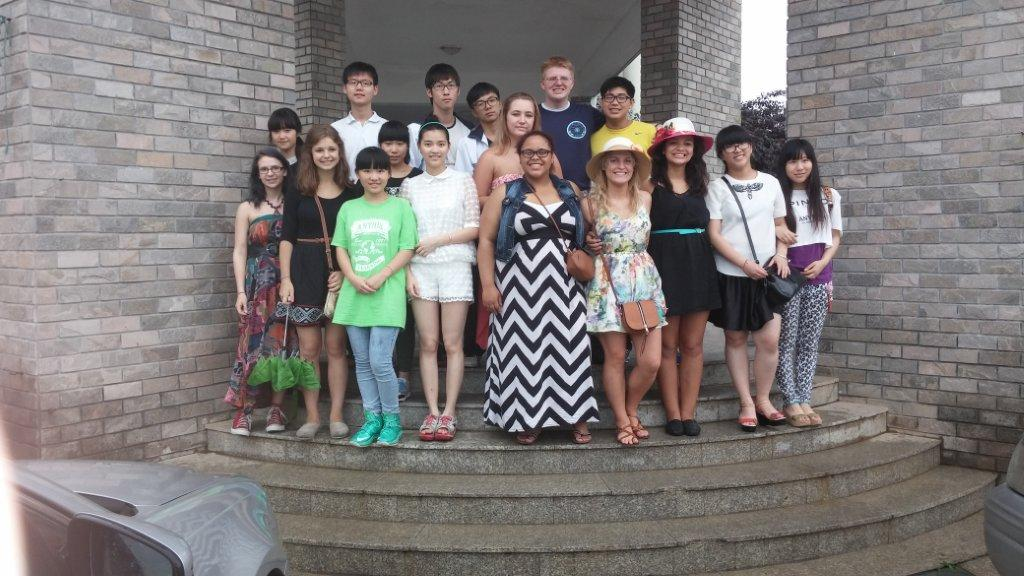 Fort Wayne students renewed friendships with the Chinese students who visited Fort Wayne in August 2013.