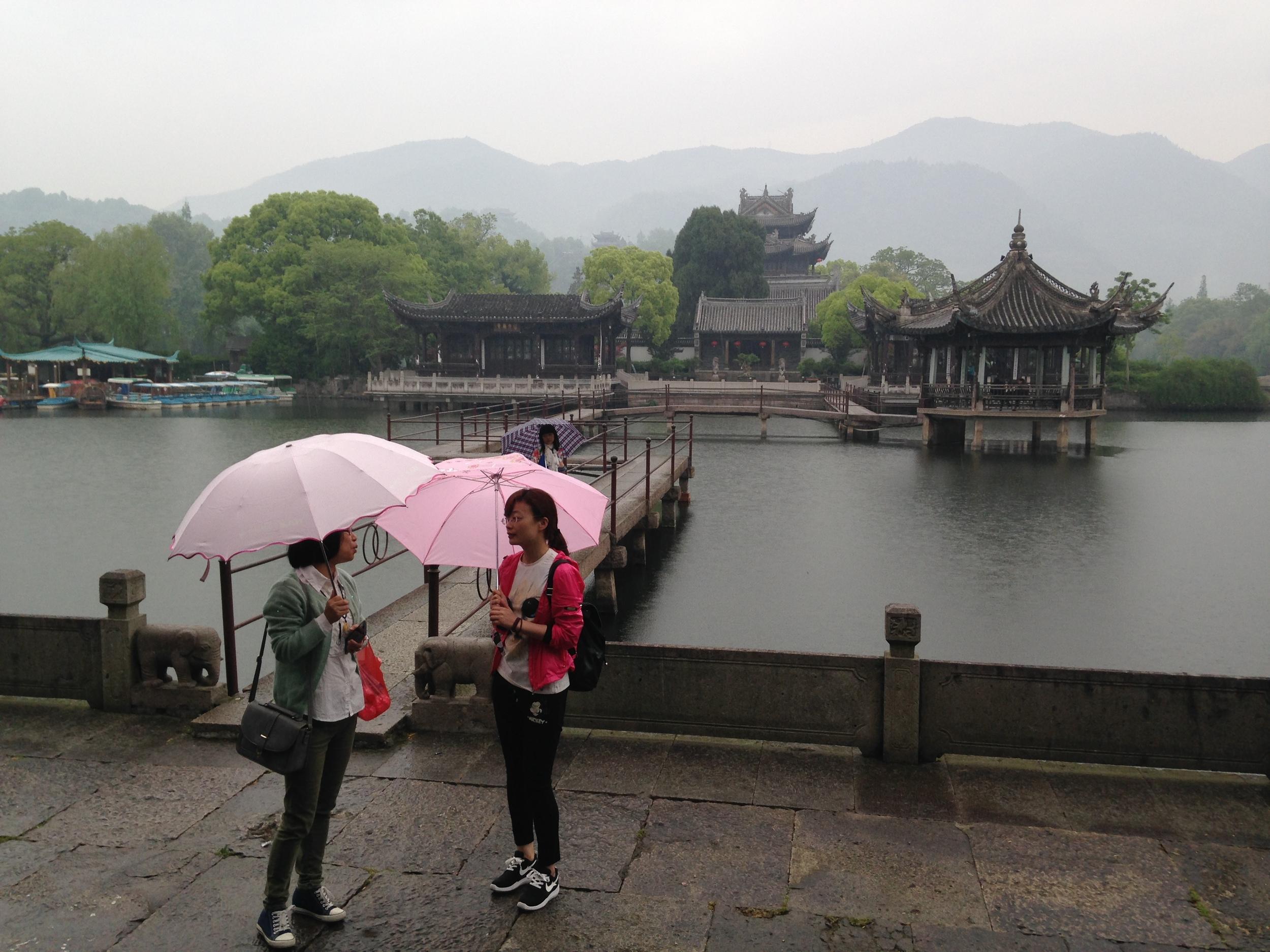 Sights of Linhai.