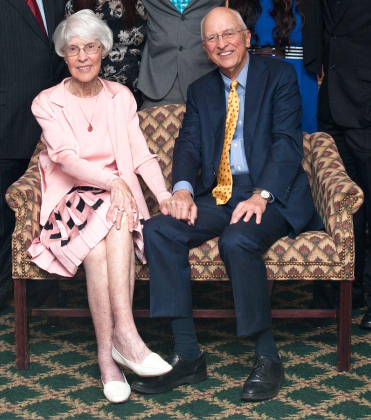 Betsy and Howard Chapman, 2014