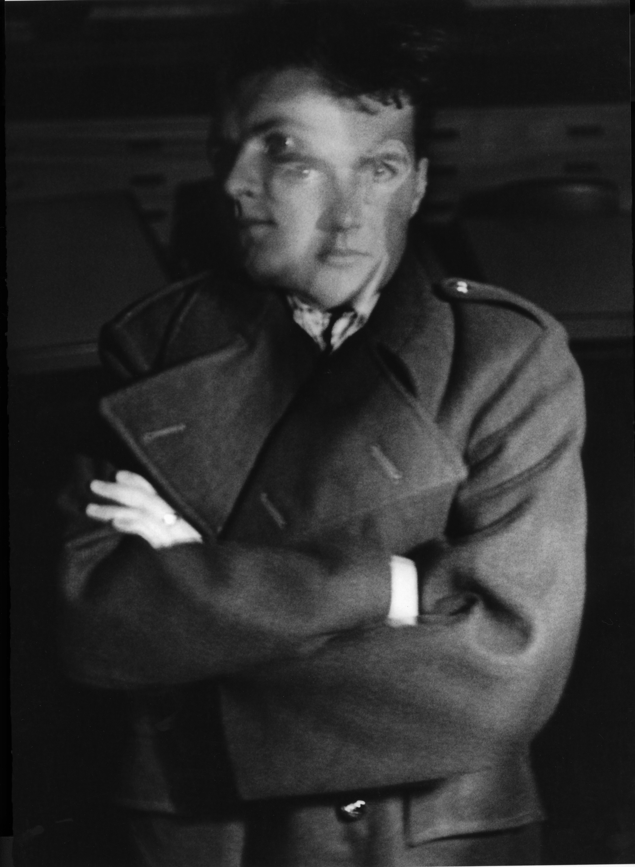 Jonathan Myles-Lea in 1986 aged seventeen. (Self-portrait photograph).