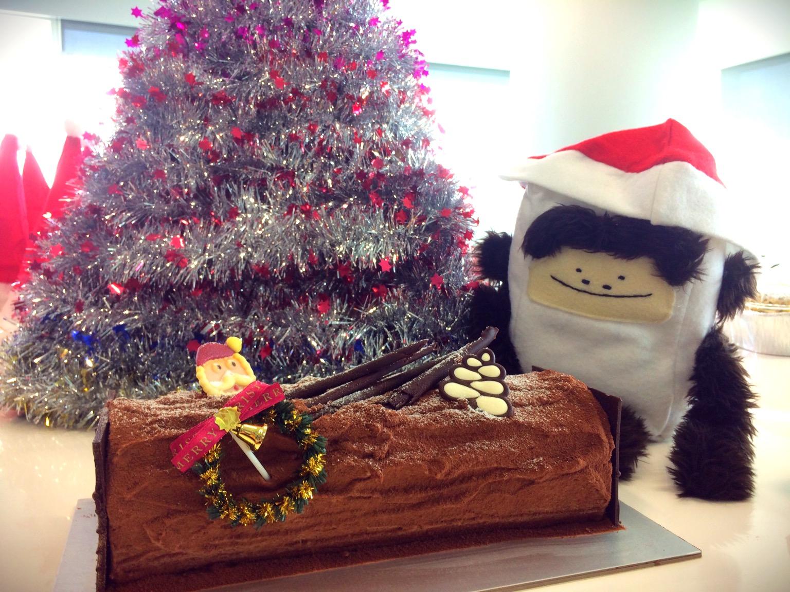 Gor likes log cake