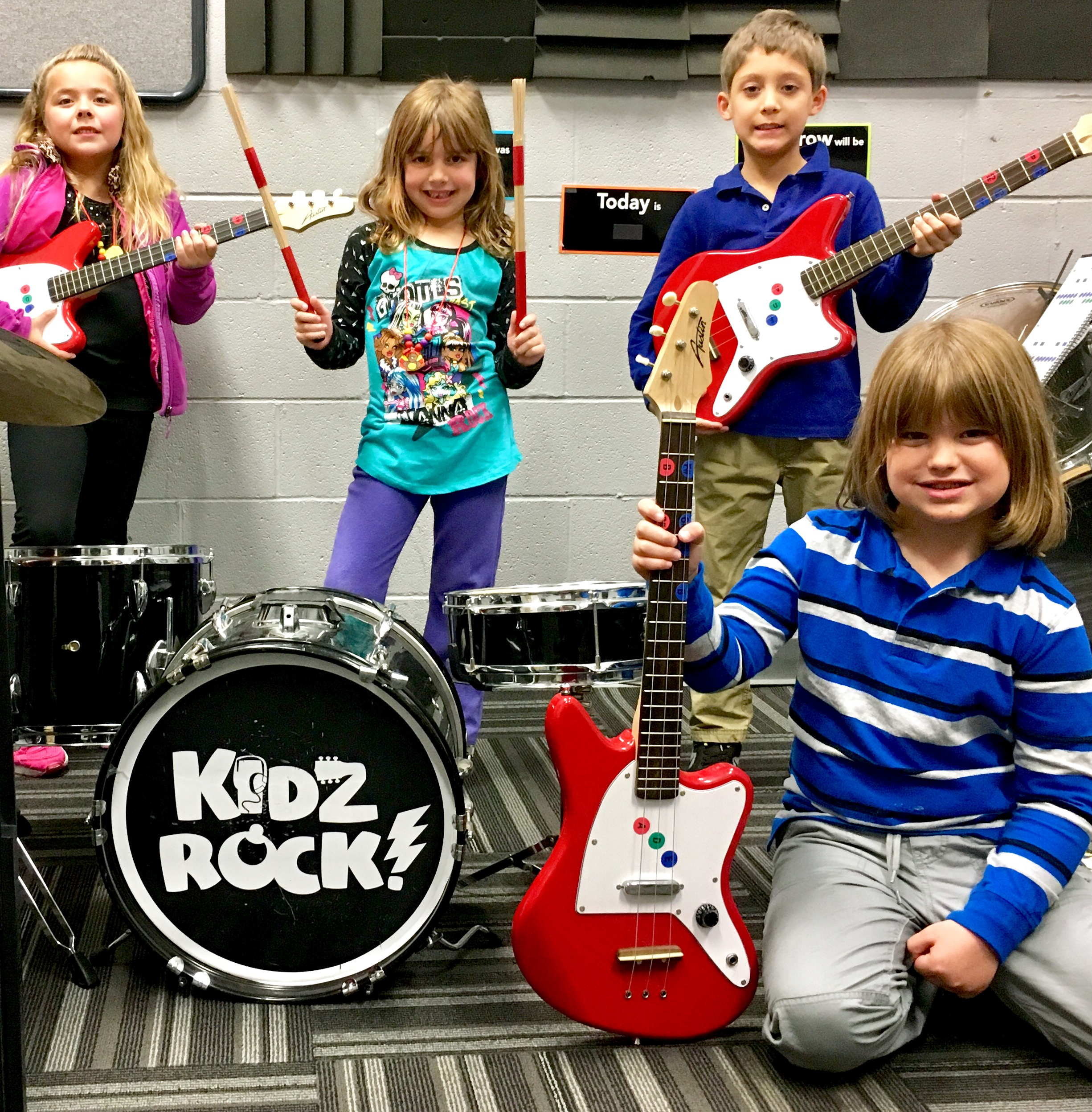 Kidz Rock Band Classes ages 4-12