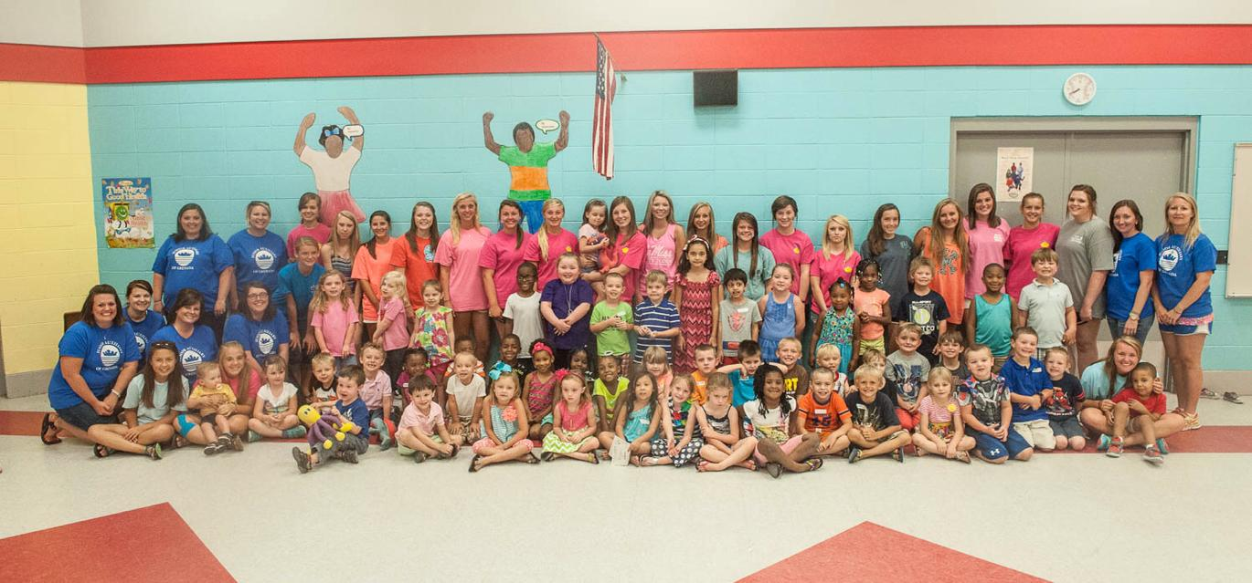 CSN teams up with the Crown Club at Kindergarten Blastoff each year.