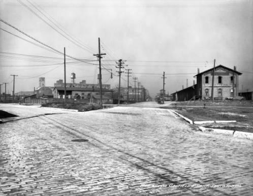 Portland Avenue facing west, Louisville, Kentucky, 1938.