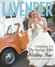 LAVENDER MAGAZINE: ANDREW + BRENDAN'S REAL WEDDING