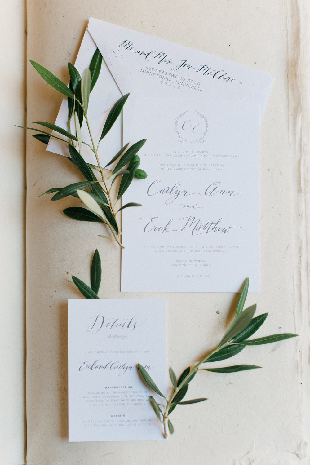 Digital Invitation - Photography by Melissa Oholendt Photography