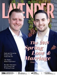 LAVENDER MAGAZINE: ADAM + JOE'S REAL WEDDING