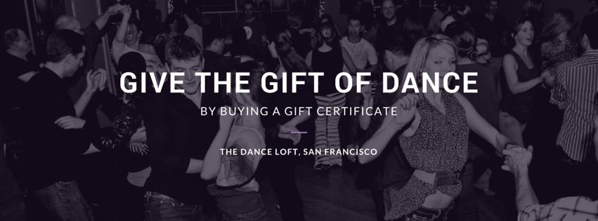 Dance Loft Gift Certificate