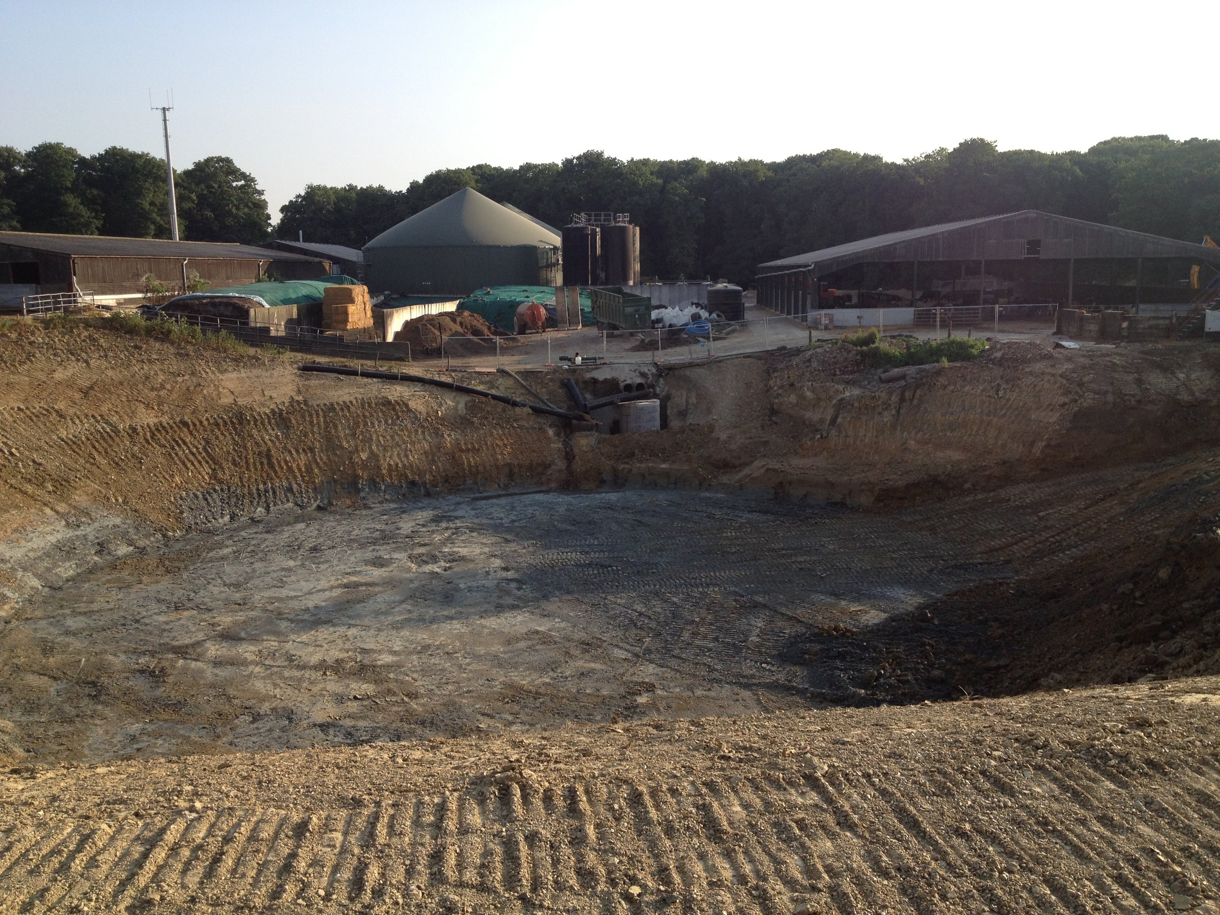 Location of 3rd digester 10th July 2013.JPG