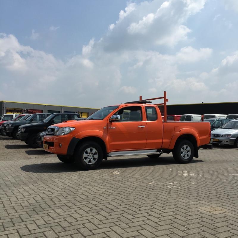 orange hilux
