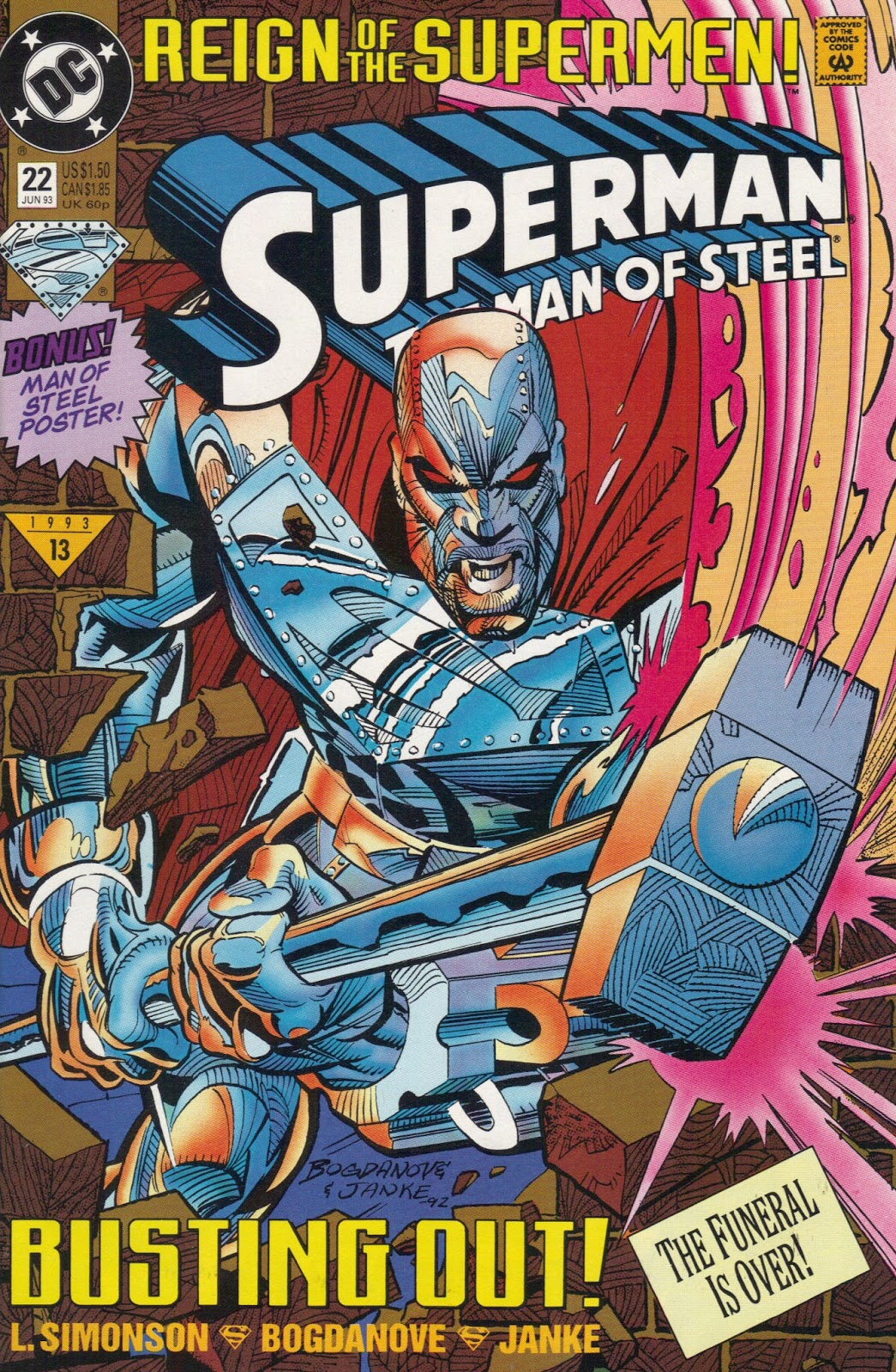 Steel (John Henry Irons) / Copyright 2016 DC Comics