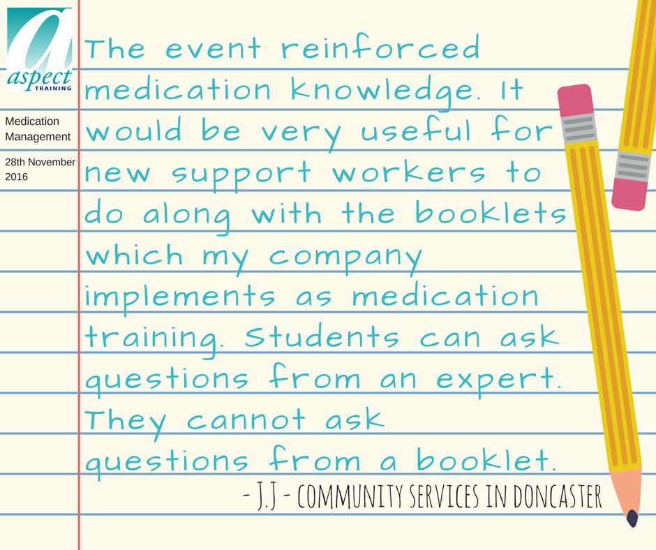 medications training doncaster