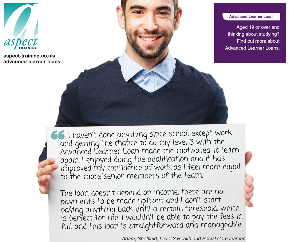 advanced learner loan testimonial2