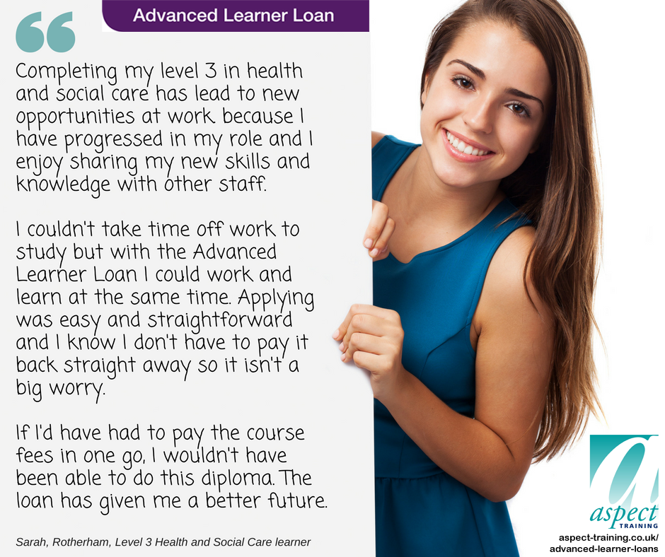 advanced learner loan testimonial 3