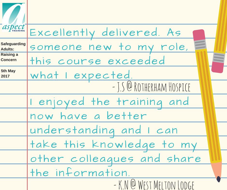 safeguarding adults training rotherham