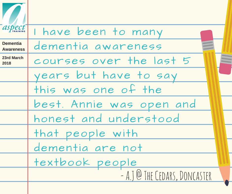dementia awareness doncaster