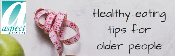 healthy eating tips for older people